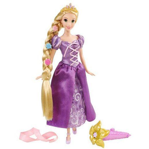 Rapunzel - Filme Enrolados - Estilosa e Cintilante - Mattel