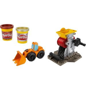 Play-Doh-Chuck---Friends-Fabrica-de-Ladrilhos