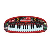 Cars-Carros-Teclado-Musical-Yellow