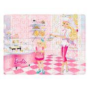 Quebra-Cabeca-100-Pecas-Barbie-Chefe-de-Cozinha