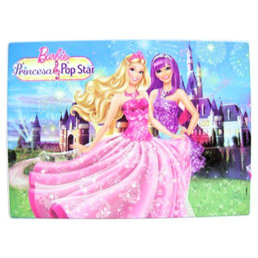 Resumida O Quebra Cabeca Barbie A Princesa E Pop Star Pecas Um