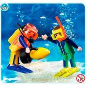 Playmobil-Blister-Com-2-Mergulhadores