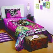 Colcha-Matelasse-Solt-Monster-High---Lepper