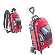 Mochilete-Bau-3D-Fiat-500-Vermelha-e-Lancheira-Fiat-500-Vermelha