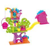 Polly Pocket Wall Party Casa da Árvore - Mattel