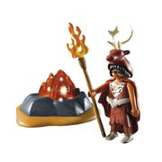 Playmobil-Idade-da-Pedra-Guardiao-do-Fogo-com-Led