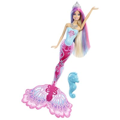 Barbie Fada Barbie Sereia Cores Mágicas - Mattel