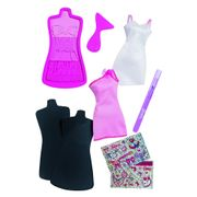 Barbie-Kit-Refil-Vestidos-Rosa-e-Branco