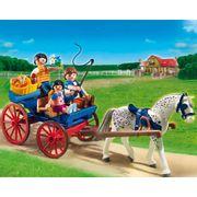 Playmobil-Country-Carruagem-Puxada-a-Cavalos