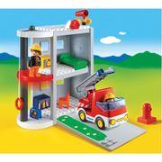 Playmobil-1-2-3-Maleta-Estacao-Bombeiros