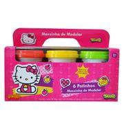 Ki-Massa-Hello-Kitty-Massinha-de-Modelar-6-Potes-Grandes