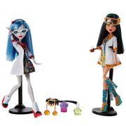 Monster High Conjunto 2 Colegas Monstros Cleo e Ghoulia - Mattel