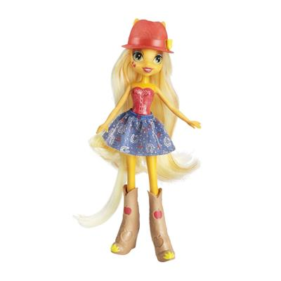 Boneca My Little Pony Equestria Girls Applejack - Hasbro