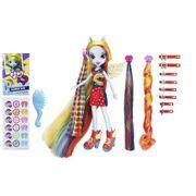 Boneca My Little Pony Equestria Girls Rainbow Dash Cabelos Estilosos - Hasbro