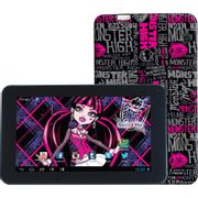 Tablet Monster High Pad Android 4.1 WiFi Tela 7 Memória Interna 8GB - Candide