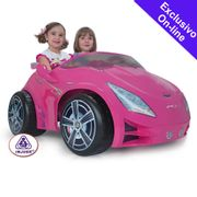 Carro-Eletrico-Pink-Girl-12V---Injusa