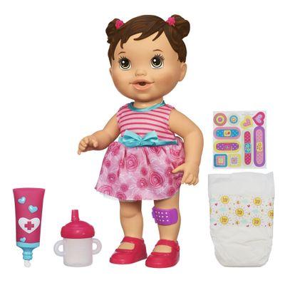 Boneca-Baby-Alive-Machucadinho-Morena