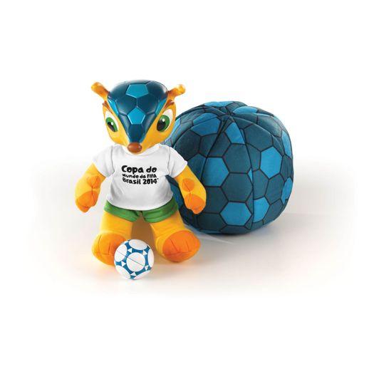 Fuleco Vira Bola 35cm Copa do Mundo da FIFA 2014 - Grow