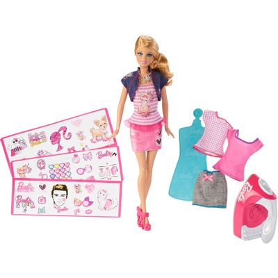 Barbie Fashion and Beauty Barbie Estampa Fashion - Mattel
