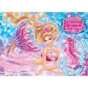 Quebra-cabeca-Barbie-Sereia-das-Perolas-24-Pecas