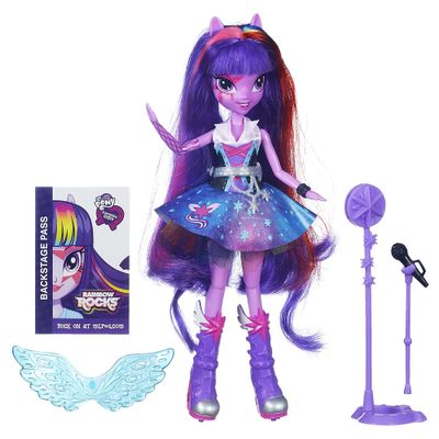 Boneca My Little Pony Equestria Girls Arrasam Twilight Sparkle - Hasbro