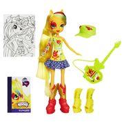 Boneca-My-Little-Pony-Esquestria-Girls-com-Acessorios-Applejack
