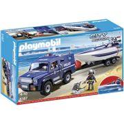 Playmobil-City-Action-Caminhao-da-Policia-com-Lancha