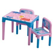 Mesa-e-cadeira-da-Peppa-Pig