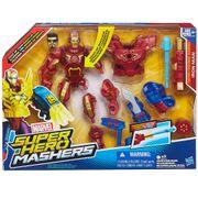 SUPER-HERO-MASHER-BONECO-ELETRONICO-HOMEM-DE-FERRO-EMBALAGEM