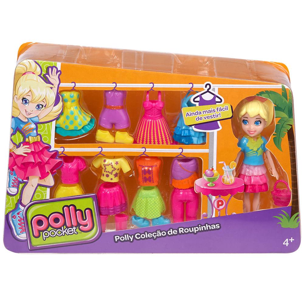 Polly Pocket - Boneca E Roupinhas - Polly