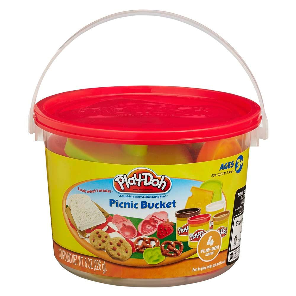 d779a7d3c1 Massinha Play Doh Mini Balde Vermelho Picnic - Hasbro