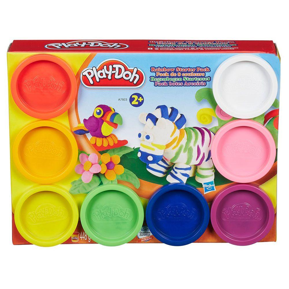 19bdebb814 Play Doh Massa de Modelar 8 Potes Sortidos - Hasbro