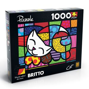 Puzzle-1000-pecas-Romero-Britto-Cat---Grow