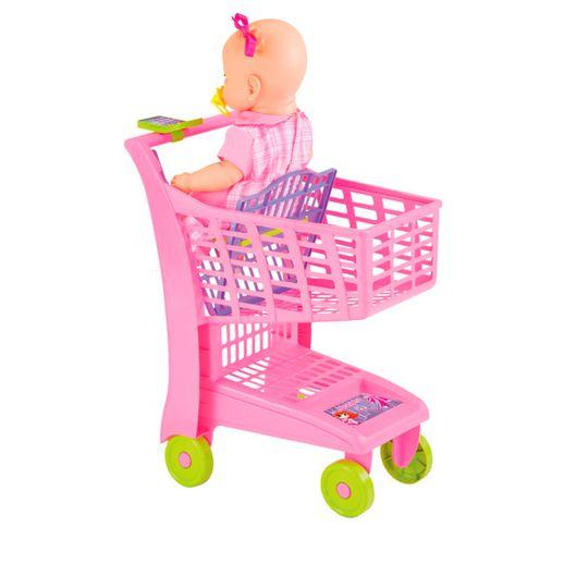 Carrinho-Super-Mercado-Rosa---Magic-Toys