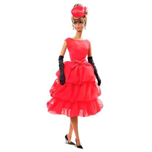 Barbie-Colecionavel-Vestido-Vermelho---Mattel-