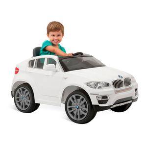 Carro-Eletrico-BMW-X6-Branco-com-Controle-Remoto---Bandeirante