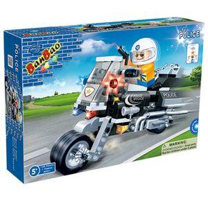 Moto-de-Policia-140-Pecas---Banbao