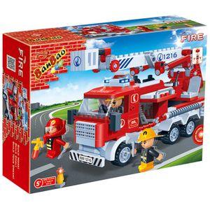 Caminhao-de-Bombeiros-Incendio-290-pecas---Banbao