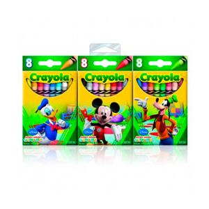 Giz-de-Cera-24-Unidades-Mickey-Mouse-Pack---Crayola