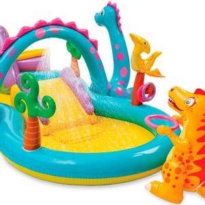 Piscina-Playground-Mundo-Encantado-dos-Dinossauros---Intex