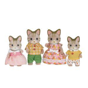Sylvanian-Families---Familia-dos-Gatos-Listrados---EpochMagia-