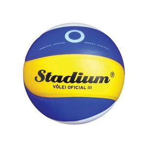 Bola-de-Volei-Oficial-IV-Stadium-Azul---Penalty