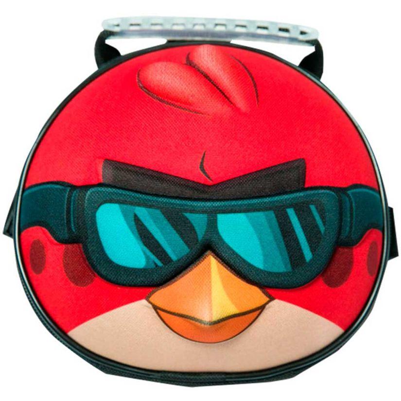 9d62f7d25 Angry Birds Go! Kit Mochilete 3D com Rodas + Lancheira | Toymania ...