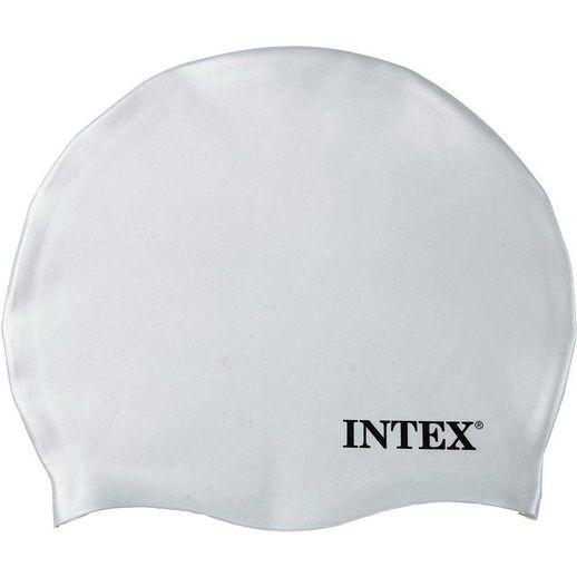 Touca-de-Silicone-Branca---Intex