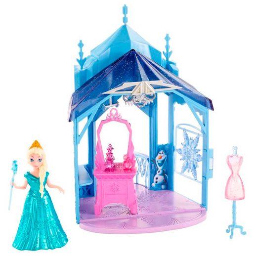 Disney-Mini-Castelinho-Elsa---Mattel
