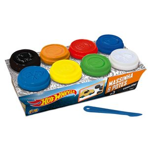 Hot-Wheels-Massinha-8-Potes---Fun-Divirta-se