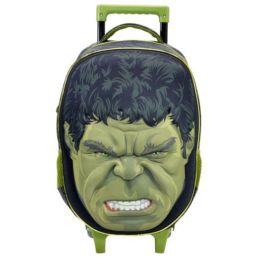 Os-Vingadores-Face-Hulk-Mochila-com-Rodinha---Xeryus