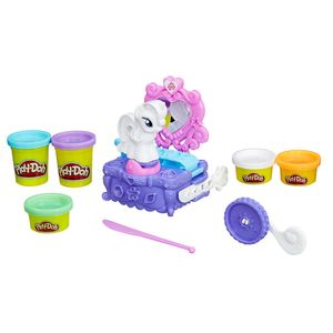 Play-Doh-Penteadeira-My-Little-Pony-Rarity---Hasbro