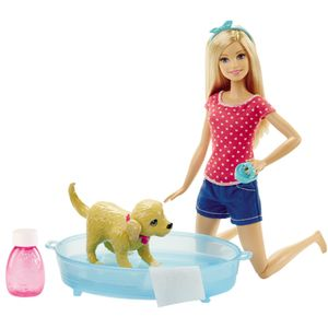 Barbie-Familia-Conjunto-Cachorrinho-Banho---Mattel-
