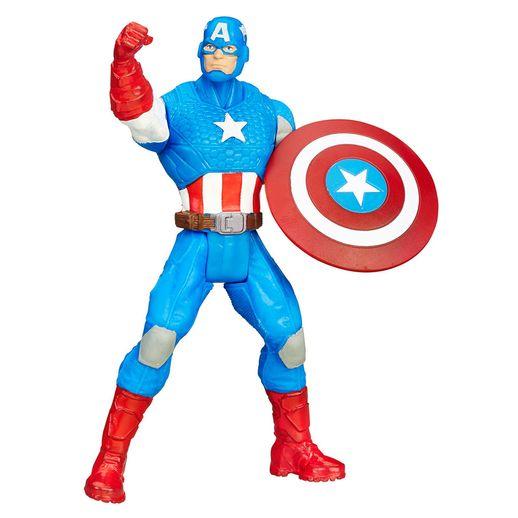 Boneco-Avangers-All-Star-375-Capitao-America---Hasbro-